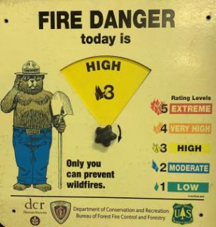 Class 3 High Fire Danger